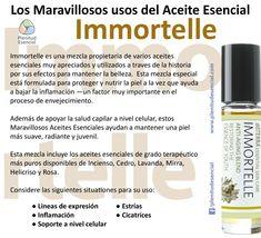 Los Maravillosos Usos del Aceite Esencial Immortelle