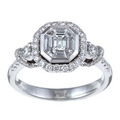 @Overstock - Mosaic diamond fashion ring14-karat white gold jewelry Click here for ring sizing guidehttp://www.overstock.com/Jewelry-Watches/14k-White-Gold-1ct-TDW-Mosaic-Diamond-Ring-H-I-SI1/5412108/product.html?CID=214117 $1,899.99