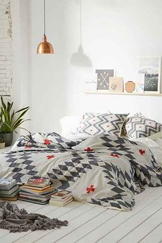 Holli Zollinger For DENY Natural Plus Duvet Cover - Urban Outfitters as featured on MyDomaine!
