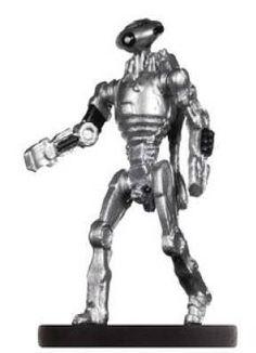 Star Wars Miniatures 1x Juggernaut War Droid #4 Knights of the Old Republic