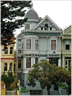 Hartter House built in 1899, San Francisco