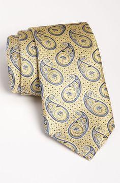 Ermenegildo Zegna Woven Silk Tie | Nordstrom Designer Ties, All Tied Up, Elegant Man, Cravat, Handkerchiefs, Bowties, Neckties, Well Dressed Men, Paisley Pattern