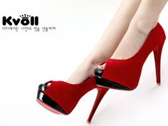 Free Shipping KVOLL high heels open toe shoes women fashion sexy dress lady high quality footwear K1134 hot sale size 34-39 US $49.99