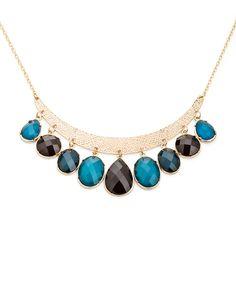 Blue Rain Necklace