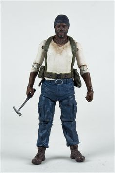 walking dead tyreese action figure  | The Walking Dead Action Figures: Glenn, Maggie, Zombie Merle, Tyreese ...