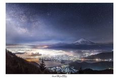Mount Fuji, New Details, Editor, Northern Lights, Clouds, Aoki, Nature, Travel, Outdoor