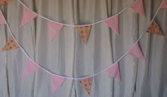Top quality double sided bunting stitched cotton 10m and 5m unusual designs in Home, Furniture & DIY, Celebrations & Occasions, Party Supplies | eBay!