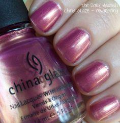 china glaze awakening