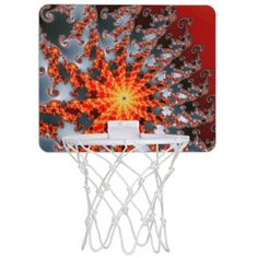 Fractal Art 25 Mini Basketball Hoops