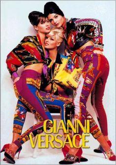 Ode to the 90s - Fashion Ads  GIANNI VERSACE   image c/o: vintageadbrowser.com