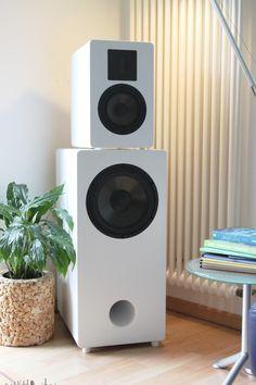 Lautsprecher, Selbstbau, Eton, Duetta, ER4 und Etonkombi spielt auf allerhöchstem High End Niveau Home Audio Speakers, Hifi Speakers, Sound Speaker, Monitor Speakers, Built In Speakers, Hifi Audio, Audio Design, Speaker Design, Homemade Speakers