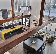 Residence designed by Katia Desgranges is situated in Gagnon, Quebec, Canada