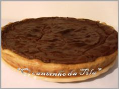 Flan patissier de chocolate