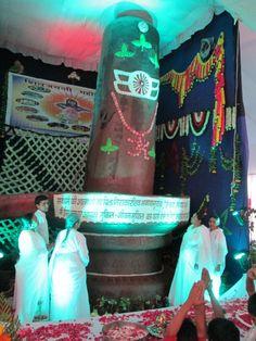 Largest Shivling by Chocolate World Records http://www.worldrecordsindia.com - Prajapita Brahmakumari Ishwariya Vishwavidyalaya,  Ahmedabad,