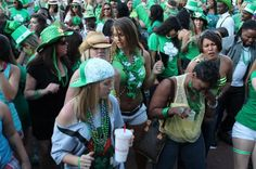 One of our favorite photos from last year's St. Patrick's Day Festival.