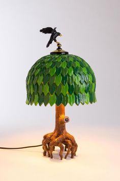 """Flirt mit dem Kitsch: """"Tiffany Tree Lamp"""" von Seletti"""