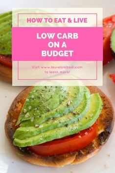 Eat Low Carb on a Budget #lowcarb #keto #healthyonabudget