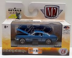 e38e3a4742bd9 1 64 M2 MACHINES DETROIT-MUSCLE RELEASE 35 - 1965 FORD MUSTANG GT 2
