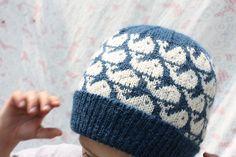 Whale Hat Knitting Pattern