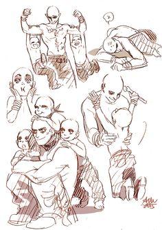 AM art: War Boys, War puppies, Slit/Nux sketches I'm...