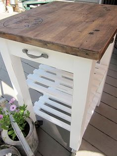 Kitchen Island Cart Ikea the 25 coolest ikea hacks we've ever seen | portable kitchen