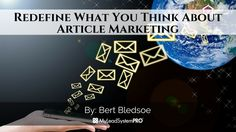 These article marketing tips can provide you with a great basis of knowledge on how to use one of today's most popular forms of marketing online. 1) Start