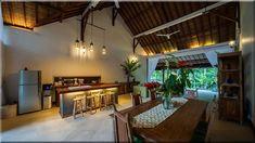 modern konyha egzotikus ház - Szép házak, luxuslakások 8
