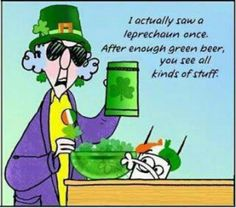 St. Patrick's Day with Maxine