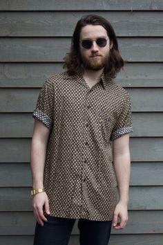 94f816d04efe Vintage J. Ferrar Patterned Shirt by Runestoneco on Etsy Vintage Clothing,  Vintage Outfits