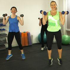 Andrea Orbeck's 10-Minute Bikini-Body Boot Camp. Love this trainer!