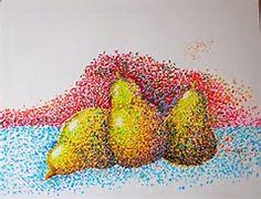 Image result for Pear Pointillism