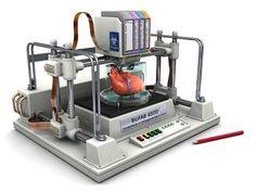 3D Bio Printer Creates Replacement Body Parts