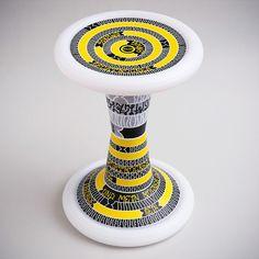 SH2 Pixacao | Sporthocker | SALZIG #salzig #sporthocker #cool #stool #pixacao #design #sport