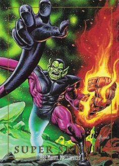 Super-Skrull (Fantastic 4 enemy) (Marvel Comics) by Jusko Marvel Villains, Marvel Comics Art, Marvel Comic Books, Marvel Fan, Marvel Heroes, Comic Books Art, Comic Art, Cosmic Comics, Marvel Comic Character