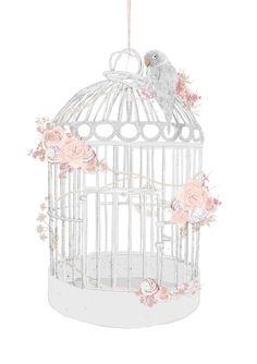 Birdcage by Natalie Lines, via Behance