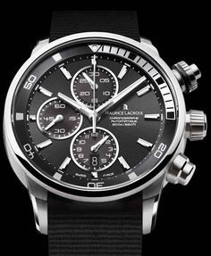 I clearly have a thing for this style of watch. -Maurice Lacroix Pontos.
