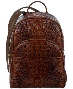 66d77ac3e881 Brahmin Melbourne Mini Dartmouth Backpack - Brown New Handbags
