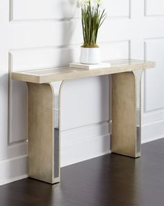 Sarita+Mirrored+Console+by+Haute+House+at+Neiman+Marcus.