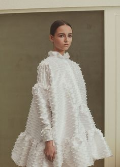 The Baby doll dress in elegant form. No need to rid yourself of you're favor… The Baby doll dress in Couture Mode, Style Couture, Couture Fashion, Look Fashion, High Fashion, Womens Fashion, Fashion Design, Winter Dress Fashion, Street Fashion