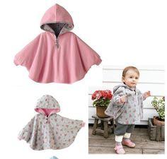 Girl's Smock Fleece cloak - OFFER (hidden)