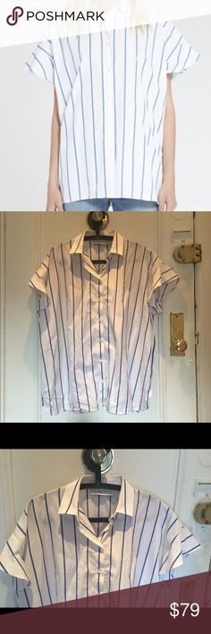 Iro Larry Striped Shirt Iro Jeans Larry striped shirt.  Size S. Oversized fit - would also work for a medium. Worn once, perfect condition. IRO Tops