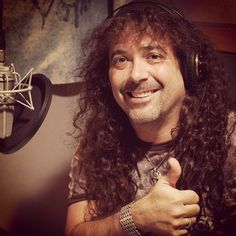Jess Harnell, the voice of Wooton Basset gives a thumbs up for Adventures in Odyssey