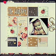 The ScrapRoom Blog: February Kit Spotlight: Crate Paper Kiss Kiss Day #3