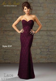 Dress Style EOF LACE Available in All Mori Lee Bridesmaids Solid Lace Colors Precio: $ 743.600 Pesos Colombianos  Precio: $ 338.00 Dólares Americanos