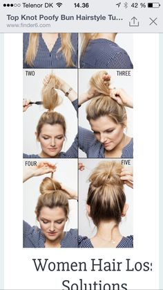 beautiful hairstyle step by step