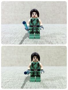 Satele Shan is a minifigure base on Star Wars : Old Republic theme. Satele Shan was a jedi knight during the Old Republic era, descended from jedi Bastila Shan and Darth Revan. As padawan, she was involved battle of Great War, fighting alongside with her master, Kao Chen Darach, against Sith Lord Vindican and his apprentice Darth Malgus. Satele went on to became a Grand Master of Jedi Order, and at the time was the youngest in the history of the order to assume the title. ( Cr…
