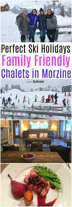 Family Friendly Ski Holiday Chalets in Morzine with TGSki - Whether your family are learning to ski or you are experts on the slopes the experience you have on a ski holiday is really important. After a hard day on the slopes having a beautiful chalet wit Europe Travel Tips, Travel Guides, Travel Packing, Winter Travel, Holiday Travel, Travel With Kids, Family Travel, European Destination, European Travel