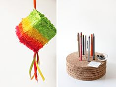 Cinco de Mayo and Mother's Day DIY ideas.