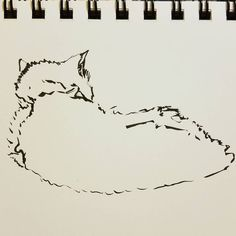Meow. #art #artist #artwork #creative #drawing #illustration #myart #paint #sketch #watercolor #instaart #sketchaday #sketchbook