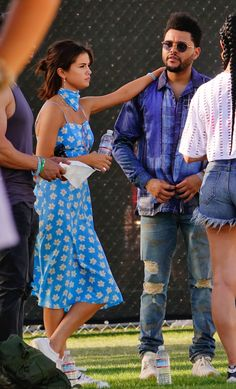 April 15: [More] Selena seen at Coachella with The Weeknd in Indio, California [HQs]